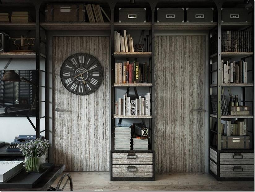 Узкий шкафы для книг