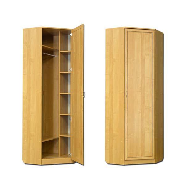 Узкий угловой шкафчик