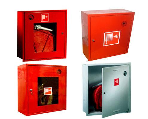 Варианты пожарных шкафов