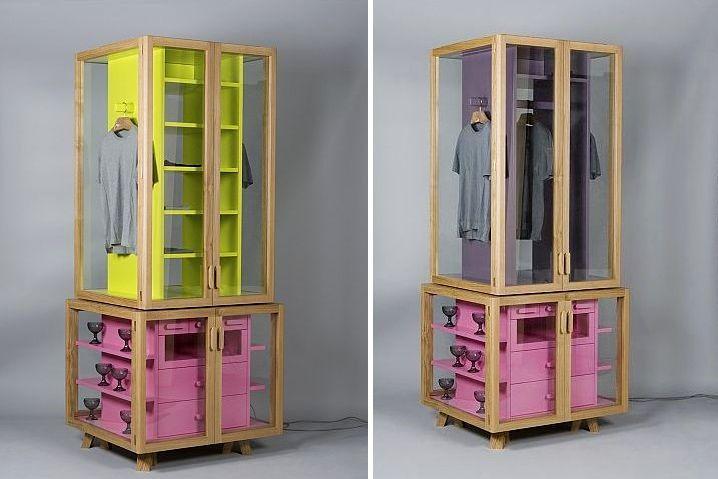 Витрина для одежды