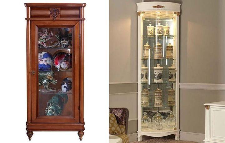 Витрины для дорогих и памятных предметов