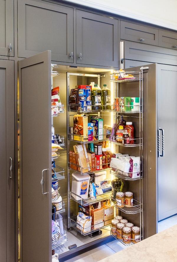 Впечатляющие кухонные шкафы