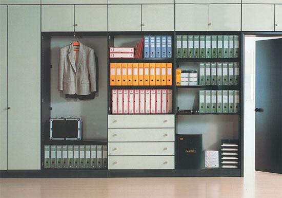 Встроенный шкаф для документов