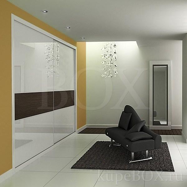 Встроенный стильный шкаф