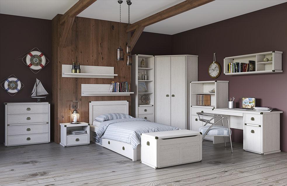 Белая спальная мебель