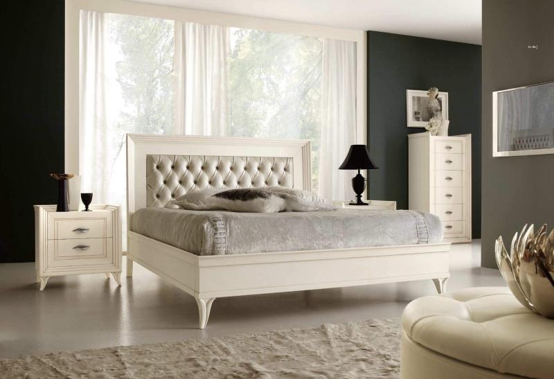 Белый цвет поверхности фасадов мебели