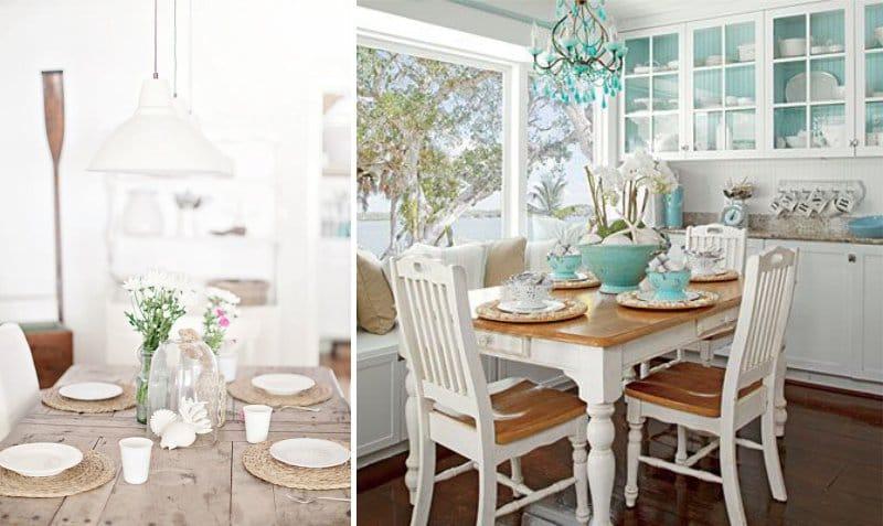 Белый цвет современной мебели
