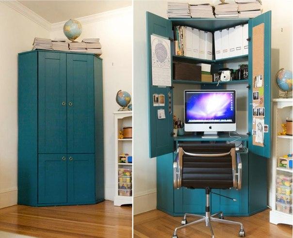 Дизайн рабочего кабинета в квартире