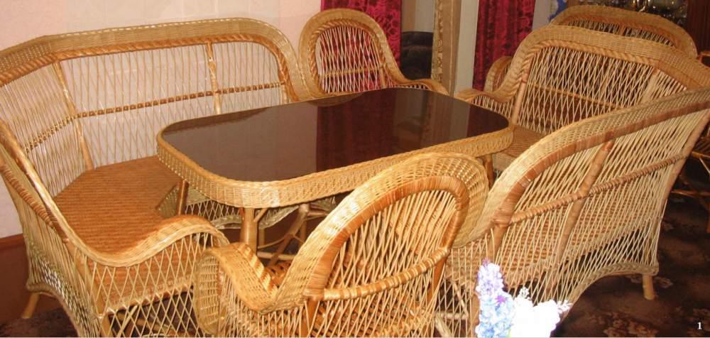 Дорогая плетеная мебель
