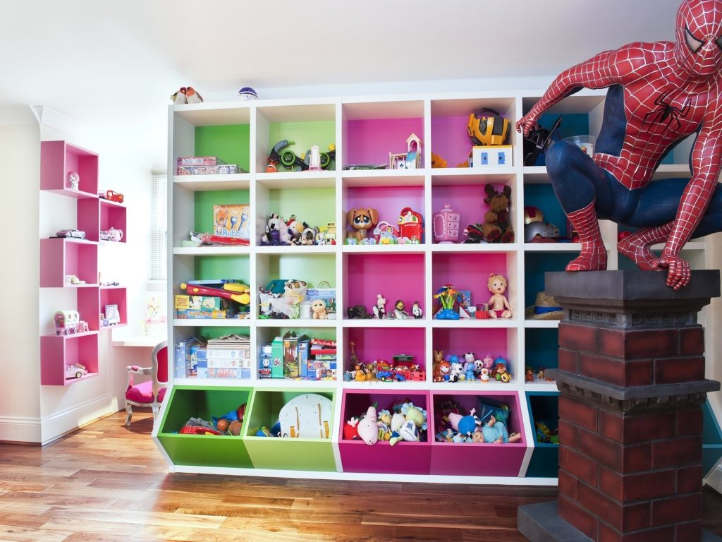 Элементы декора детской комнаты