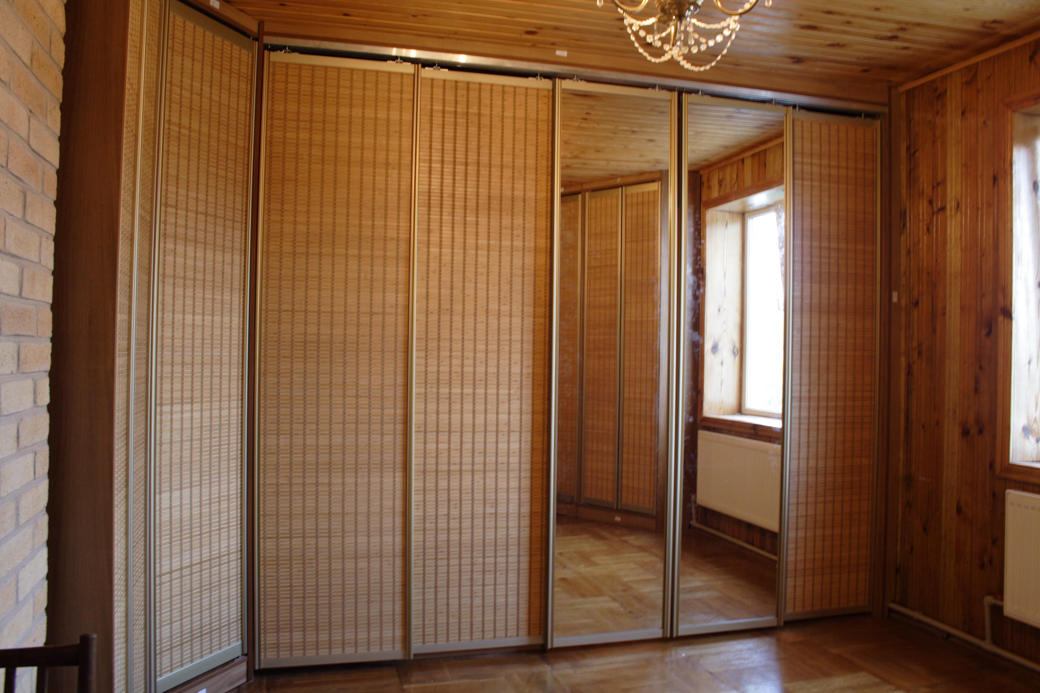 Фасад бамбук