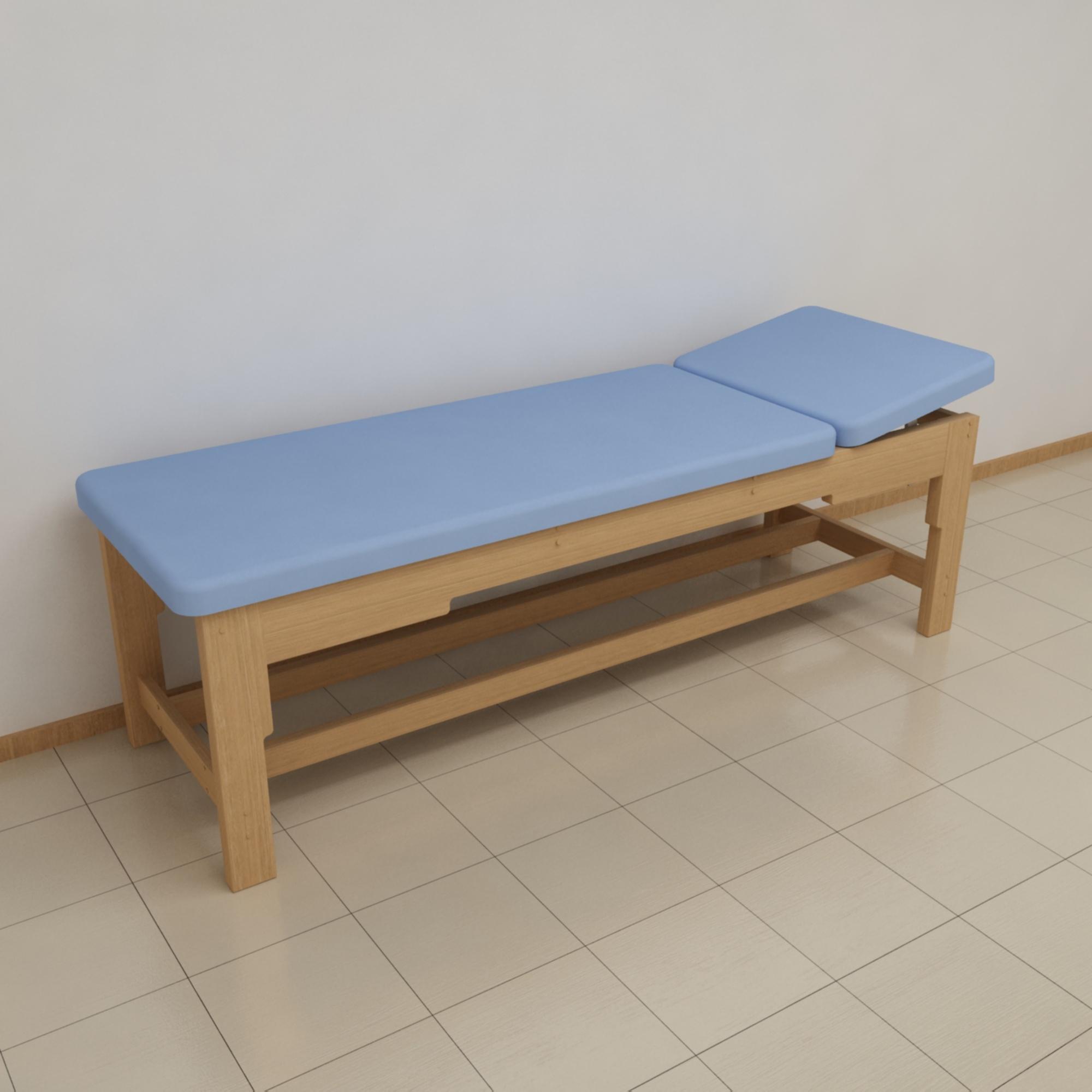 Физиотерапевтическая деревянная кушетка