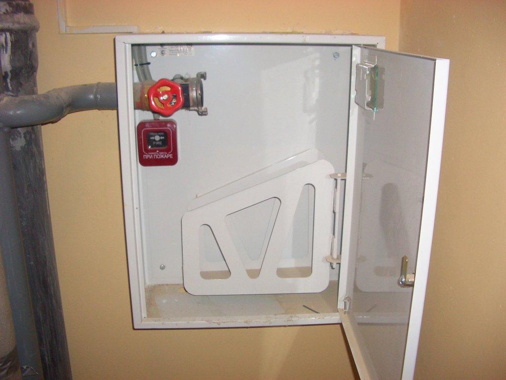 Где расположить пожарный шкаф