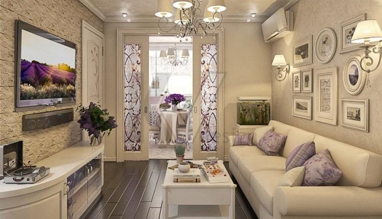 Гостиная прованс