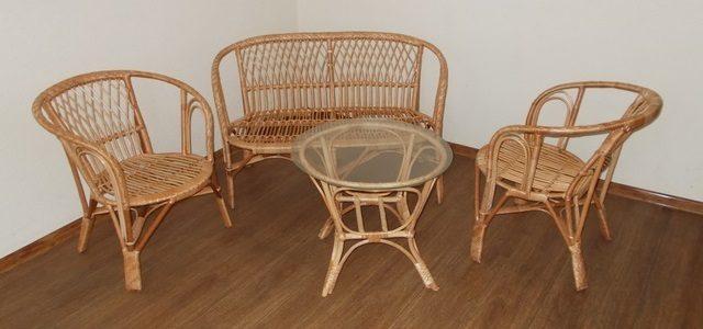 Идеи для размещения плетеной мебели