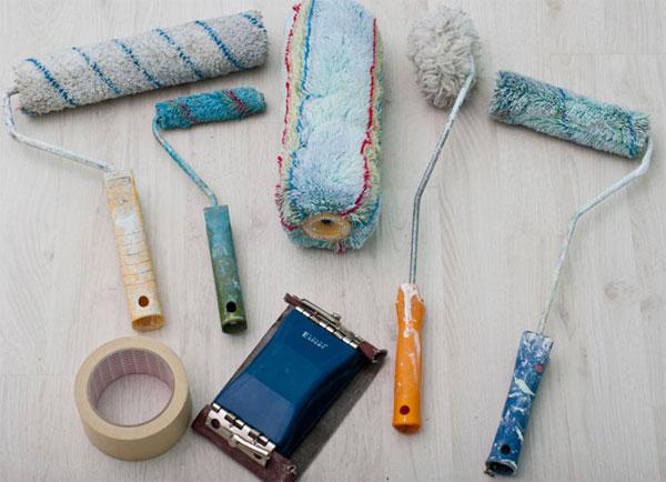 Инструменты для покраски мебели