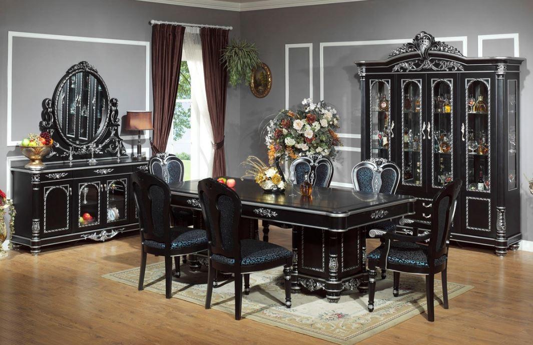 Интерьер с состаренной мебелью
