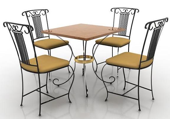 Как использовать мебель из металла