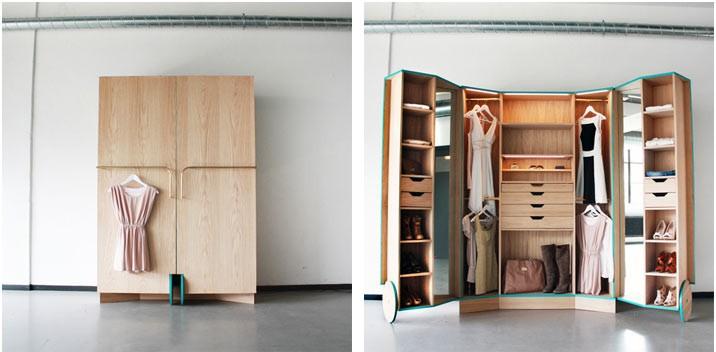 Как из большого шкафа сделать шкаф поменьше