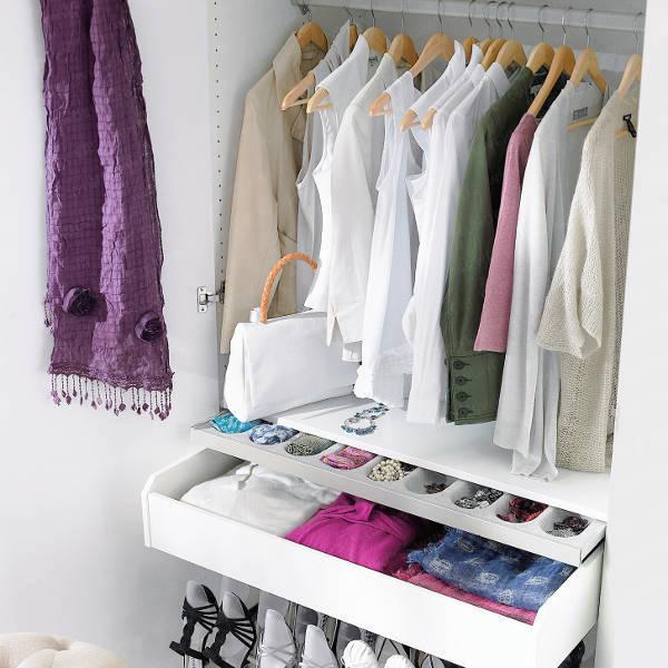 Порядок в шкафу, как правильно сложить вещи, рекомендации специалистов