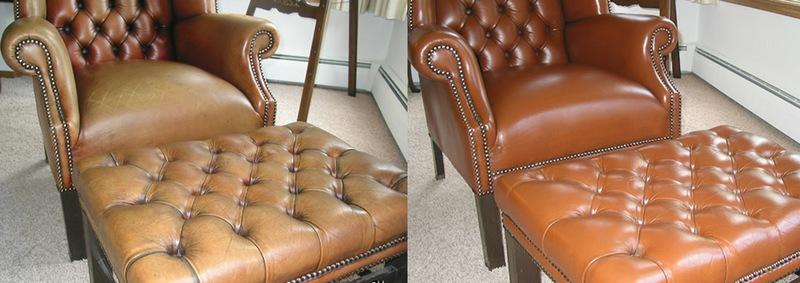 Как отремонтировать кожаную мебель