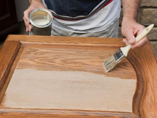 Как покрасить фасад мебели