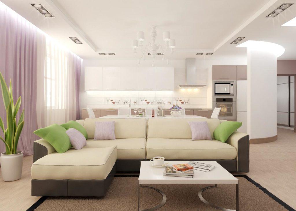 Как расположить мебель в гостиной