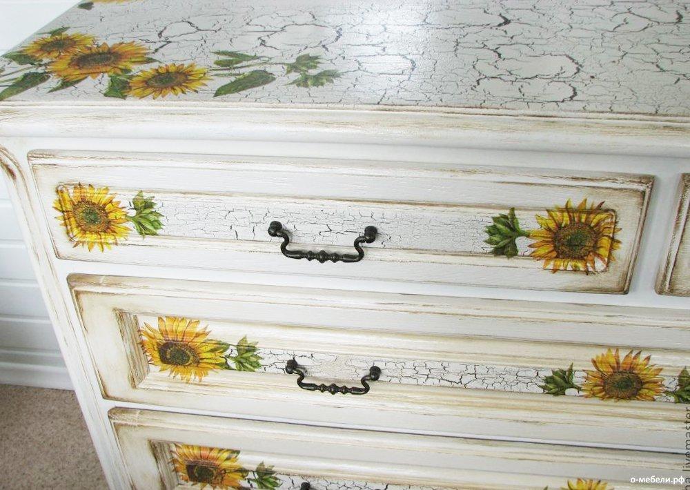 Как сделать кракелюр на мебели