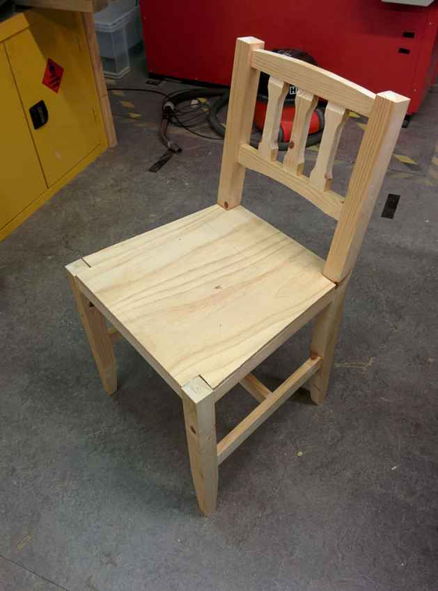 Как сделать стул