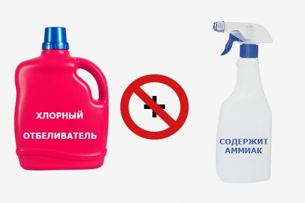 Как смешивать бытовую химию