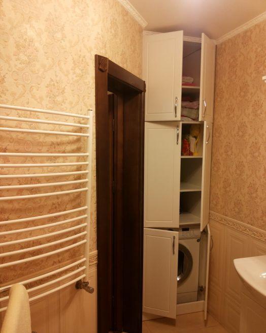 Как встроить стиральную машину в ванной комнате