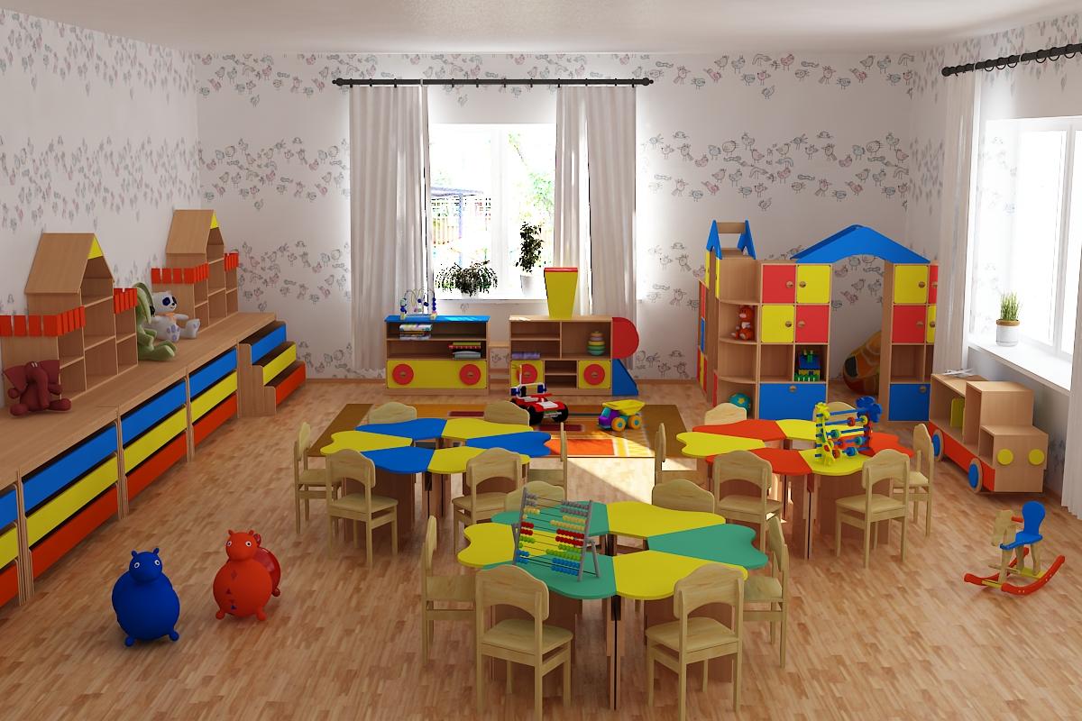 Какую мебель выбрать для детского сада