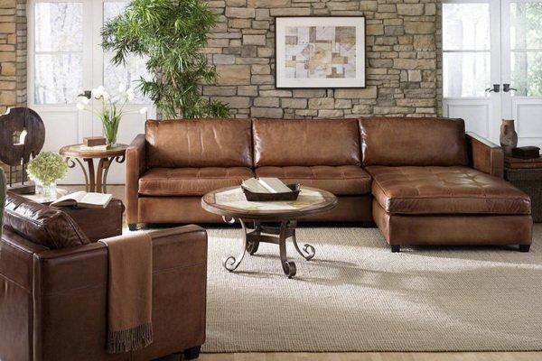 Коричнвый цвет мебели