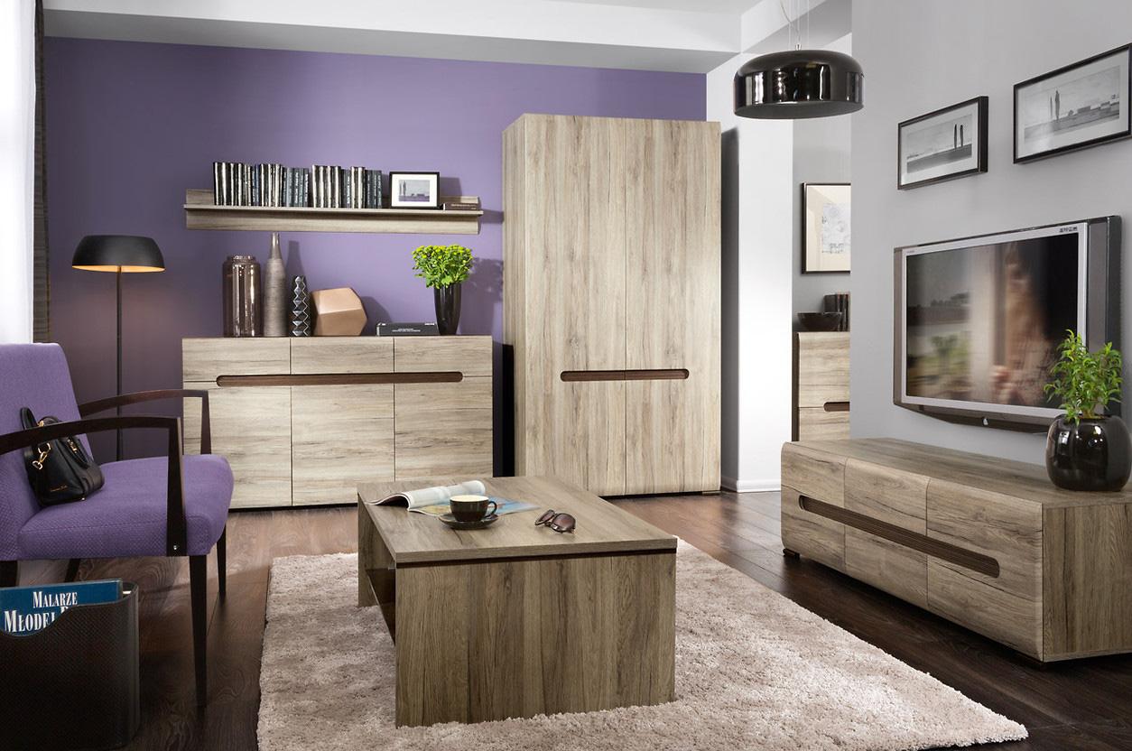 Красивая корпусная мебель для гостиной