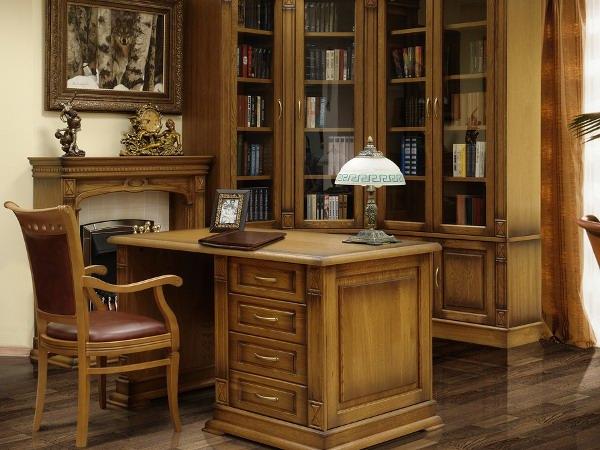Красивая мебель из дуба