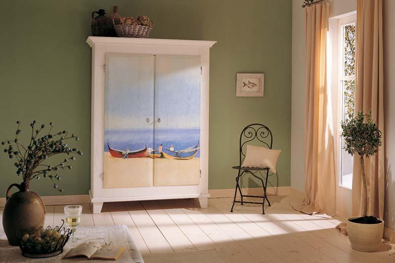 Красивые шкафы с росписью