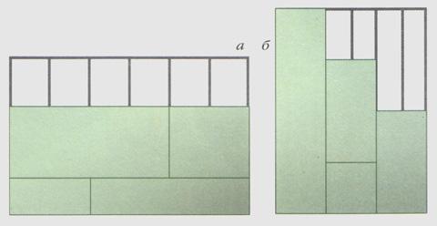 Крепить панели необходимо в шахматном порядке