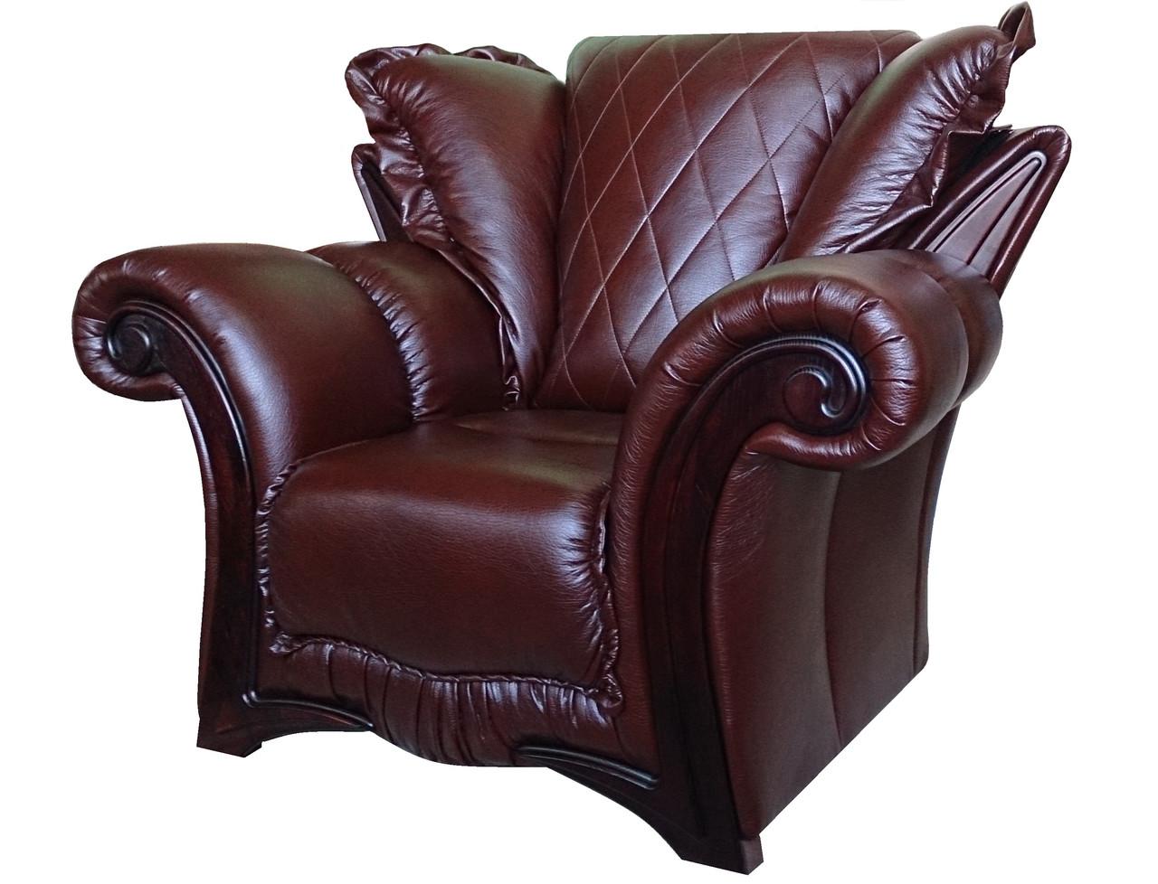 Кресло из исскуственной кожи