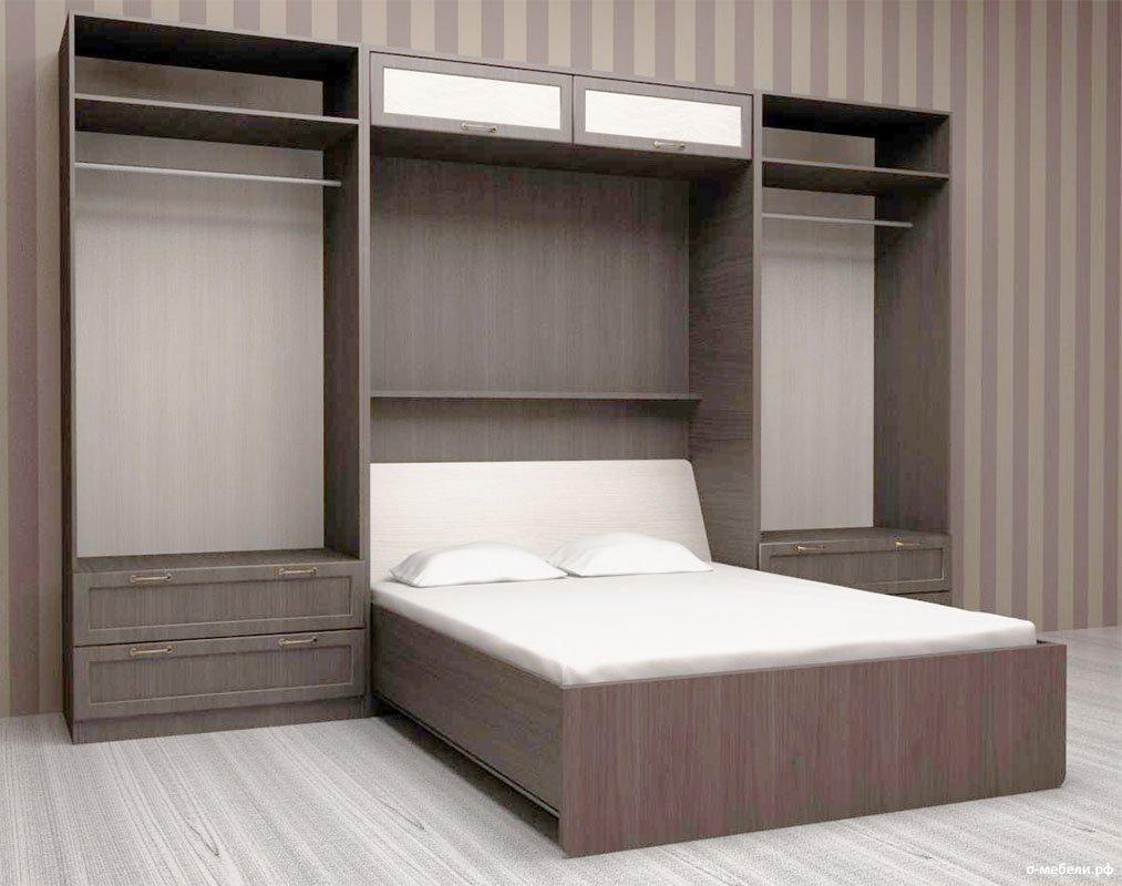 Кровать-шкаф из МДФ