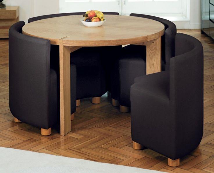 Круглый компактный стол
