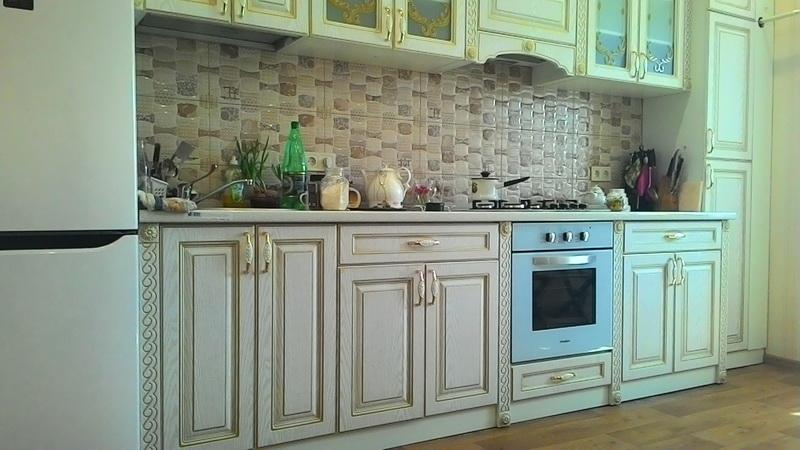 Кухня с патированными покрытиями