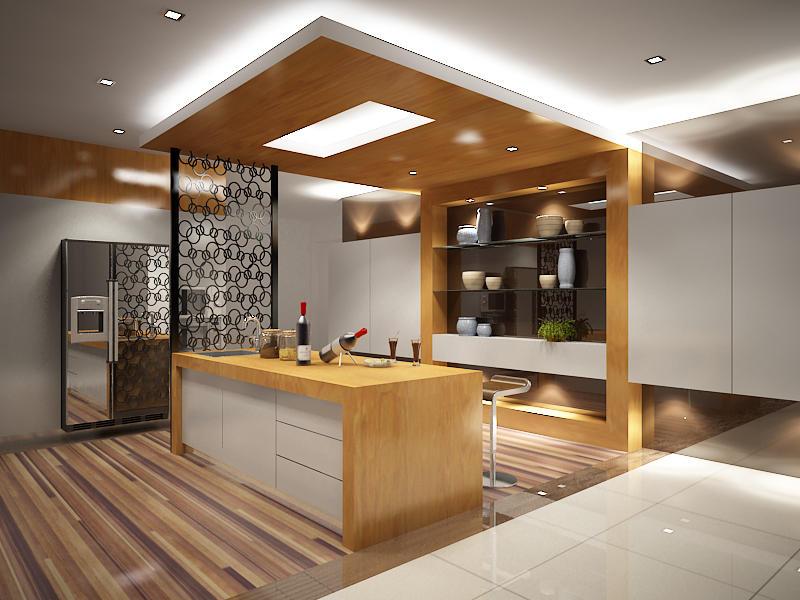 Кухня зал студия