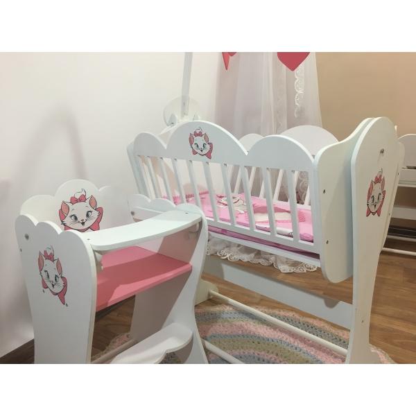 Кукольная мебель для новорожденного ребенка
