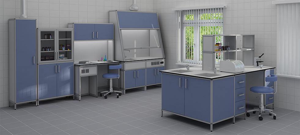 Лабораторная современная мебель