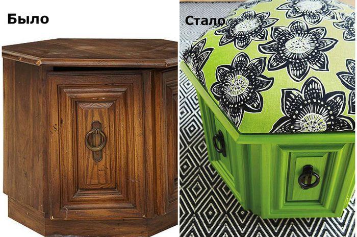 Мебель до и после