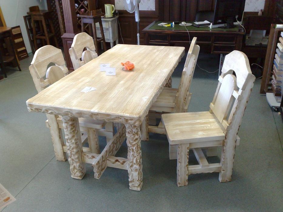 Мебель и предметы интерьера из дуба