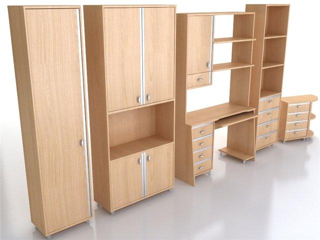 Мебель из нескольких секций