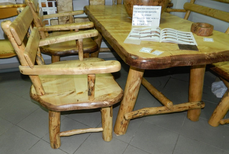 Мебель на основе горного тополя