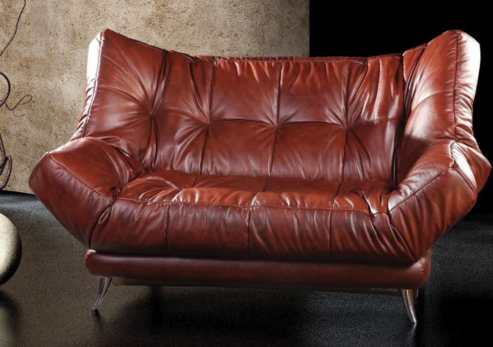 Мебель на основе кожи