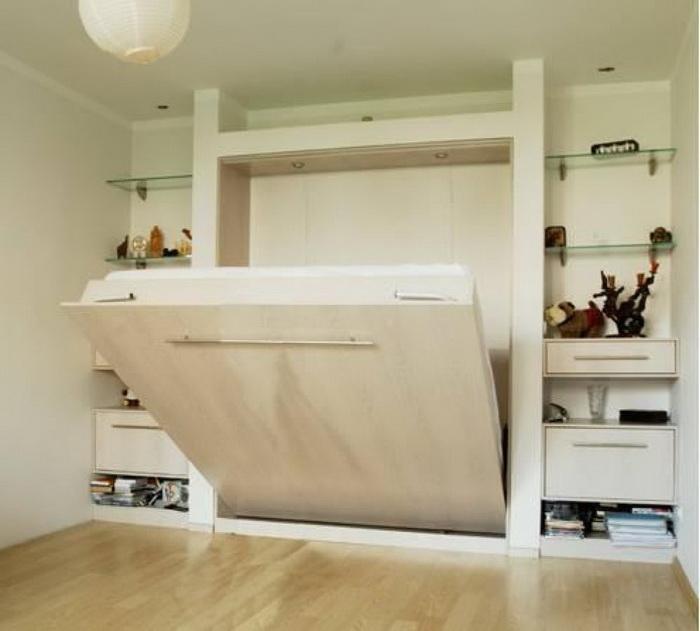 Мебель трансформер в интерьере спальни